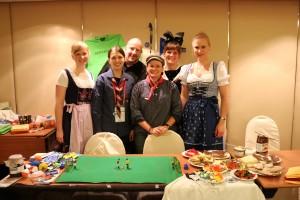 Internationaler Abend auf der 35. WAGGGS Weltkonferenz. Foto: Jule Lumma