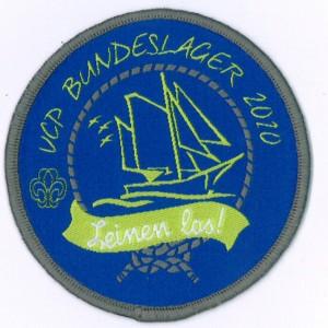 37 Abzeichen Bundeslager 2010
