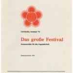 Zu den Weltjugendfestspielen in Ost-Berlin 1973 reiste eine Delegation des frisch gegründeten VCP.