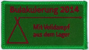 40 Abzeichen Bulakuierung 2014, RPS, Gau Tronje