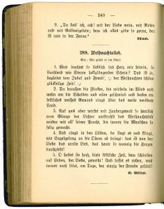 45 Weihnachtslied im Liederbuch des Akademischen Turnbundes