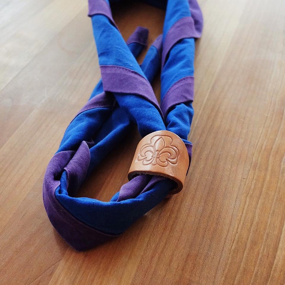 Halstuch mit VCP Halstuchknoten