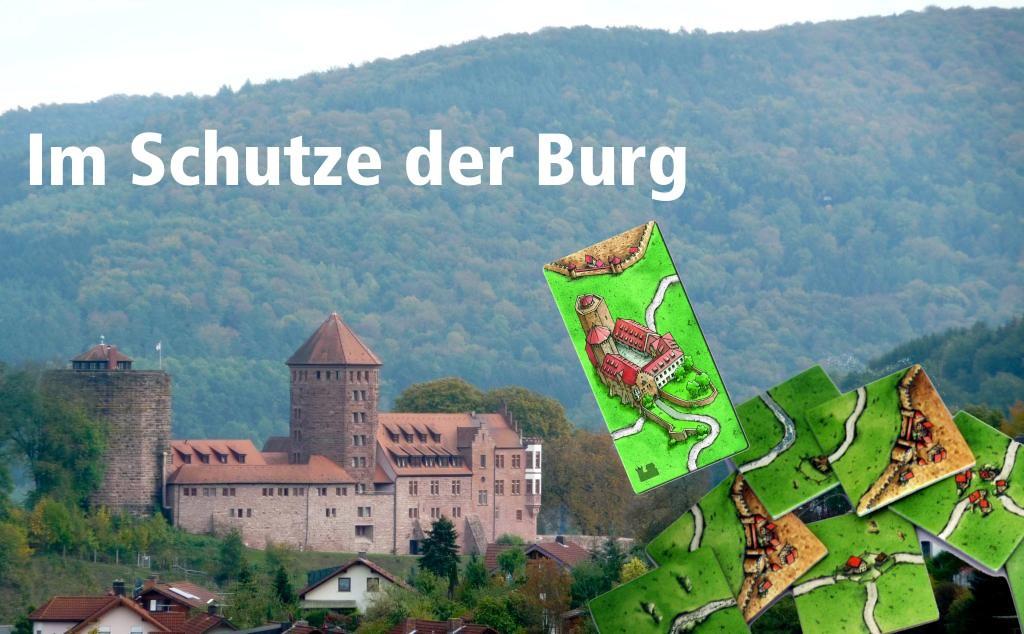 Im Schutze der Burg Rieneck - Foto-Montage: Peter Diehl