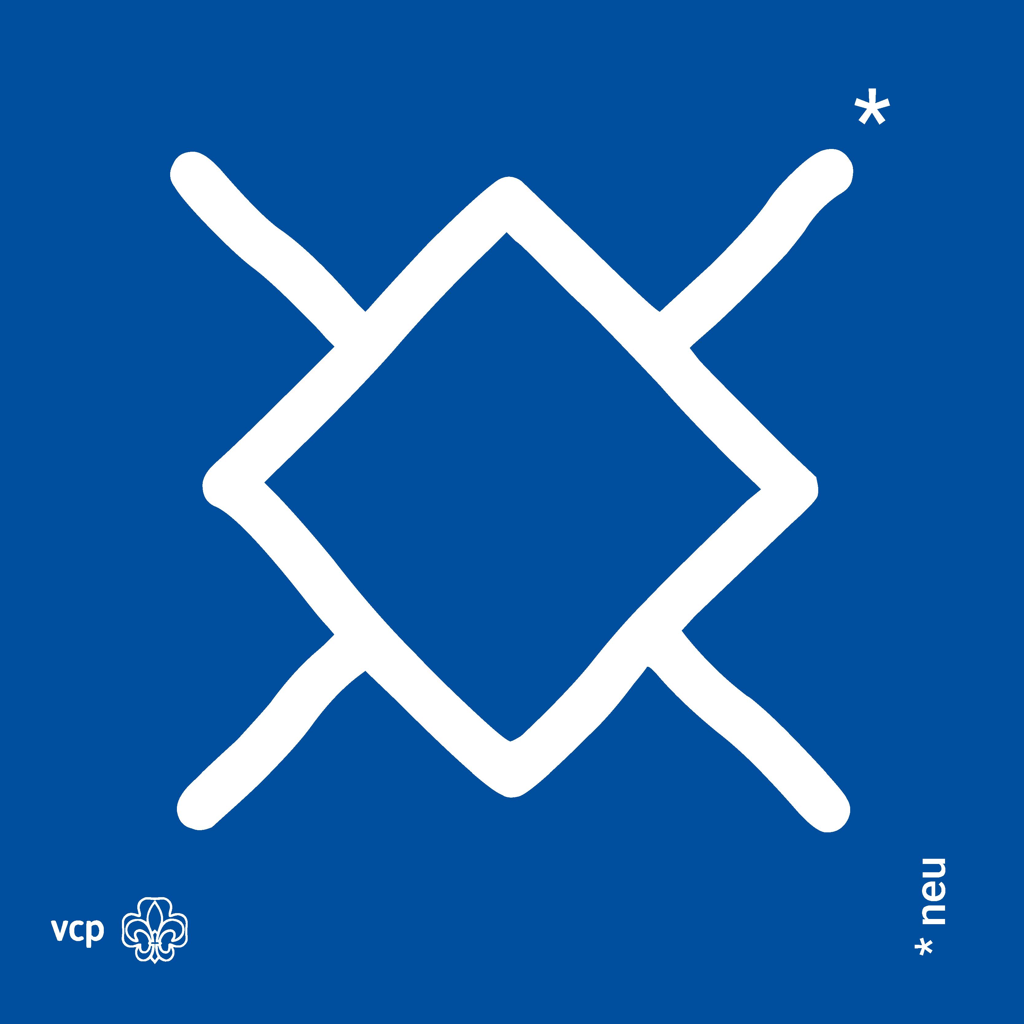 neu - VCP-Waldläuferzeichen wlz