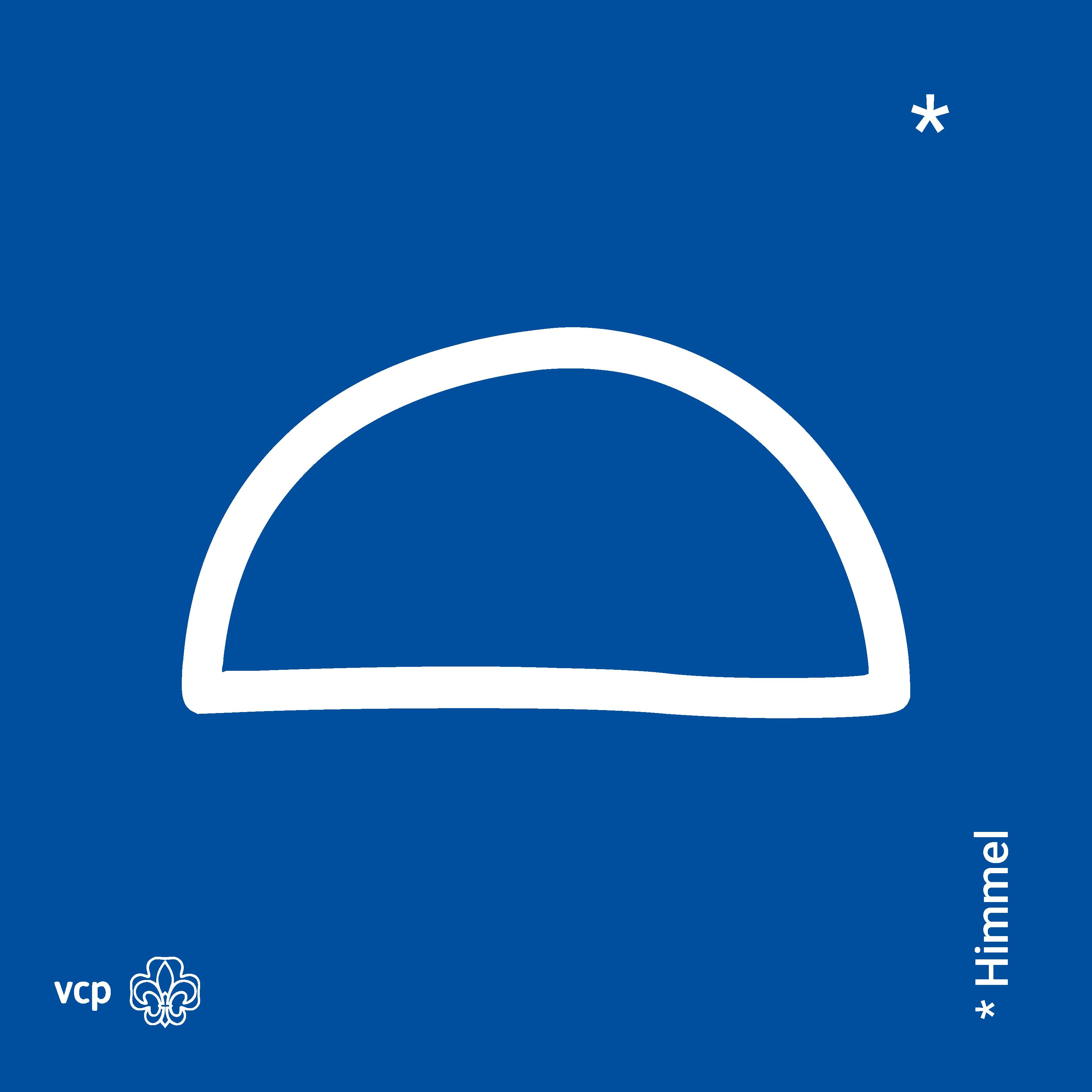 Himmel - VCP-Waldläuferzeichen