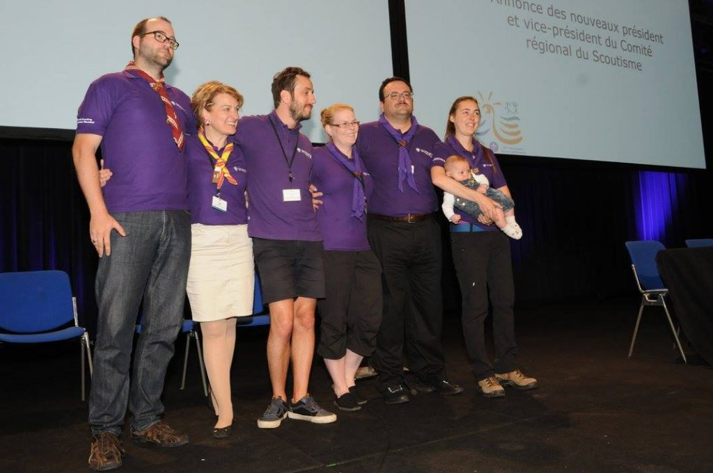 Das WOSM-Europa-Komitee. Foto: Konferenzen