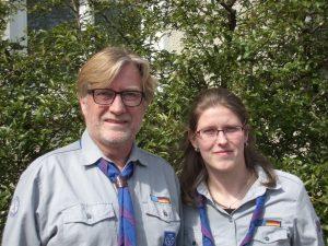 Norbert Kluck-Kühn und Elgin Marklewitz