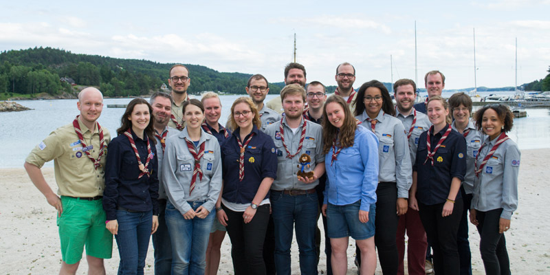 Die deutsche Delegation auf den Europakonferenzen 2016