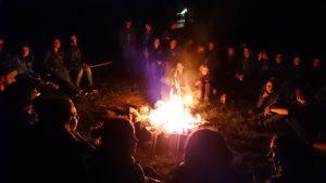 Lieder am Lagerfeuer - es geht nicht ohne