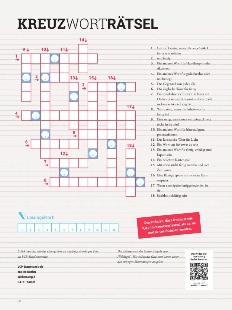 anp2002 Kreuzworträtsel