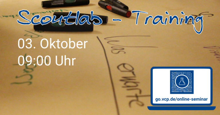 Scoutlab- Training 03.10.2020 9:00 Uhr
