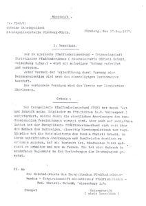 Verbot der -TCP durch die Gestapo am 27.8.1937