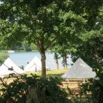 Zelte auf dem Bundeszeltplatz