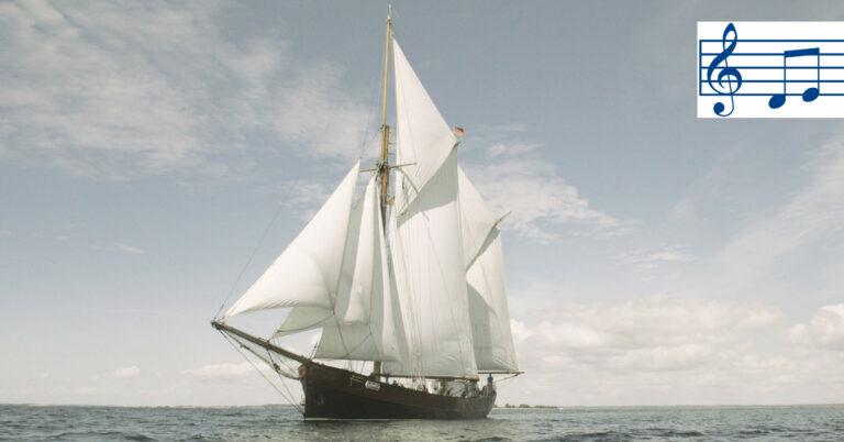 Schiff Lovis zum Lied Zauber der See