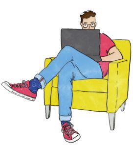 Digital natives: Die Generationen, die mit dem bestehenden Internet aufgewachsen sind.