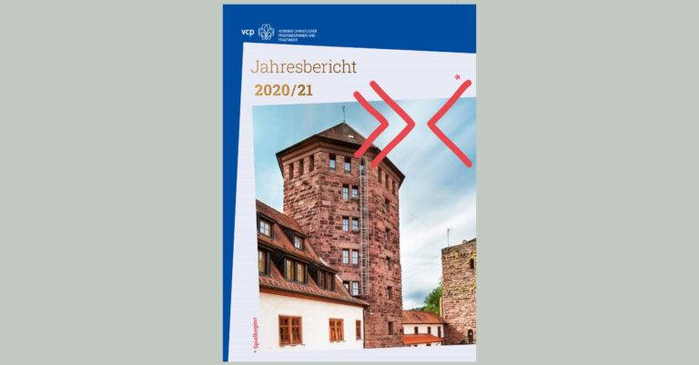 Cover Jahresbericht 2020/21