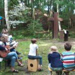 Gottesdienst an der Kreuzwiese